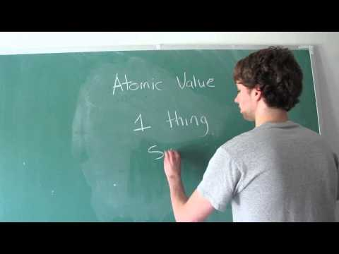 Database Design 10 - Atomic Values