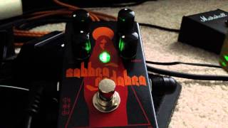 Catalinbread Sabbra Cadabra - Sabbath tone in a pedal