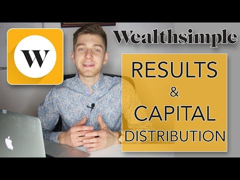 Wealthsimple RESULTS & Capital Distribution Based On Risk Level - Robo Investor Platform 2018 2019
