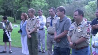 Flag Retirement Ceremony 6/14/14
