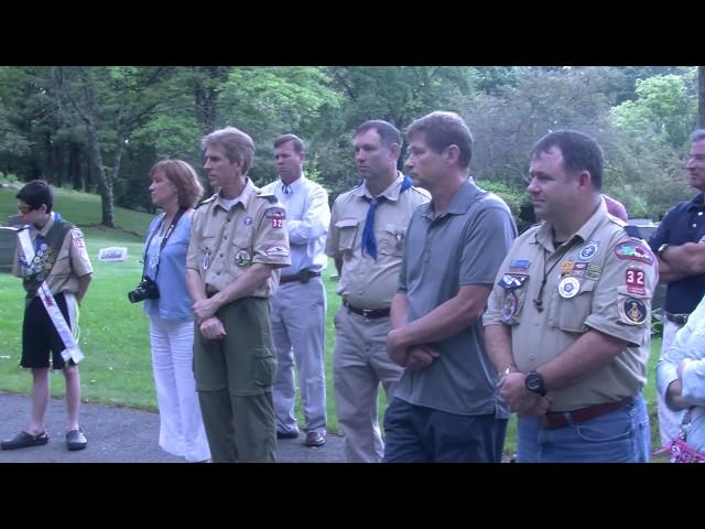 Flag Retirement Ceremony 6/14/14