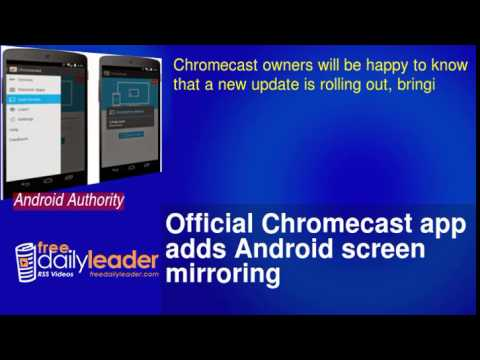Chromecast App Android