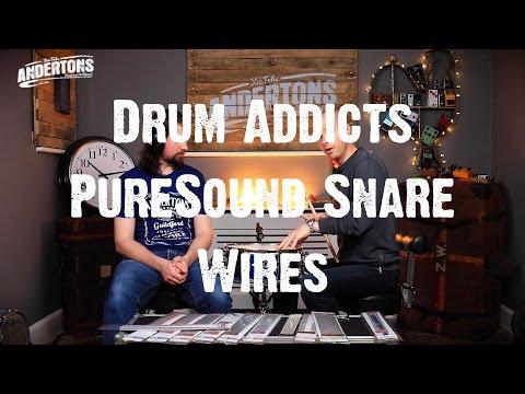 Drum Addicts - PureSound Snare Wires - PIMP MY SNARE!!