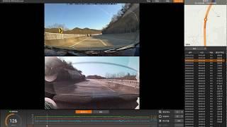 파인뷰 LX3000 파인뷰 플레이어 2.0 영상재생화면…