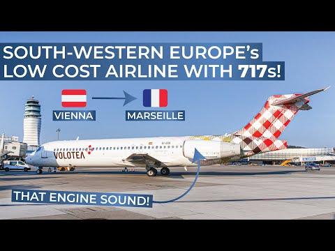 TRIPREPORT | Volotea (ECONOMY) | Boeing 717 | Vienna - Marseille
