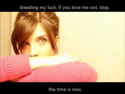 Letra The time is now - Virginia Labuat (Lyrics) CORREGIDA