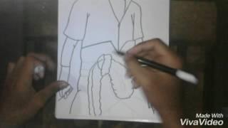 Tutorial Drawing Sasuke Uciha
