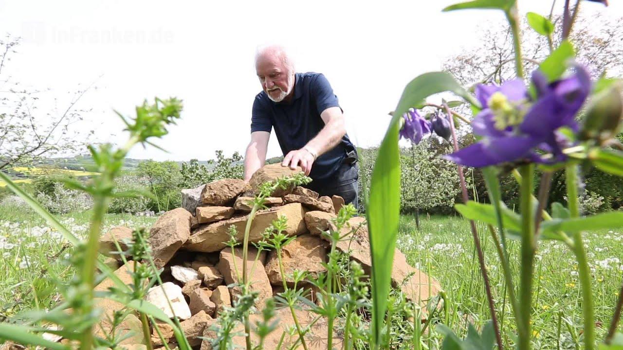 Videoanleitung: So werden Steinhaufen im Garten zum kleinen Biotop ...