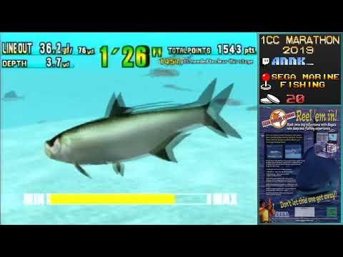 Arcade 1CC Marathon 2019 - Sega Marine Fishing By Annk_