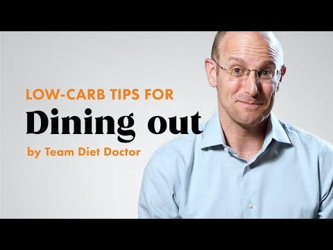 [Preview] Staying low carb when dining out – Tips from team Diet Doctor