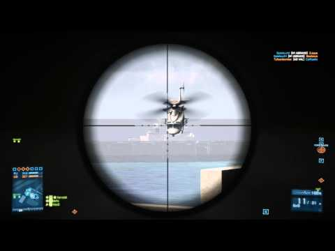 BF3: Jet Shot Down With Rpg + Sniper Montage