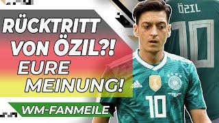 Mesut Özil: Soll er zurücktreten?! |Berliner Fanmeile