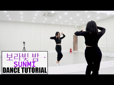 선미 (SUNMI) - 보라빛 밤(pporappippam) - Lisa Rhee Dance Tutorial