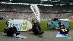 Re-Live Sport im Park: Intensives Fitness Training in der MERKUR SPIEL-ARENA mit OB Thomas Geisel