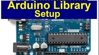 How to set up an Arduino Library(LECTURE 14 )