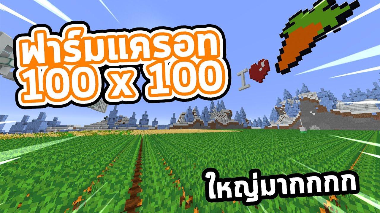 ฟาร์มแครอทขนาด 100x100 เอาไปทำอะไร!! Jukucrush Junior 4