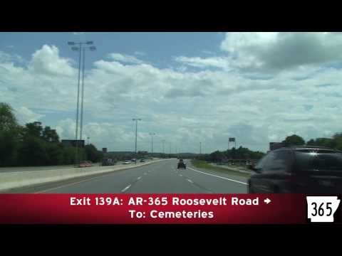 Freeway Tour: Little Rock Arkansas