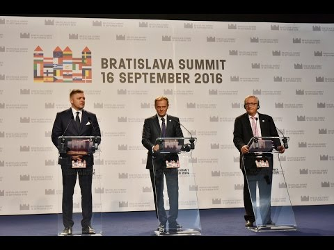 Bratislava Summit press conference [16/9/2016]