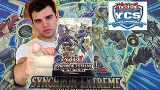 Best Yugioh Synchron Extreme Structure Deck Opening Review & YCS Vlog! OH BABY!!