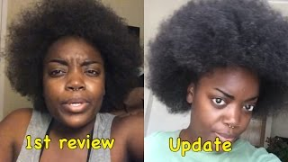 Grow 4 inches of Hair in ONE MONTH (UPDATE)
