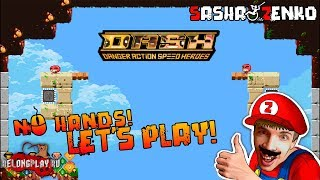 DASH: Danger Action Speed Heroes Gameplay (Chin & Mouse Only)