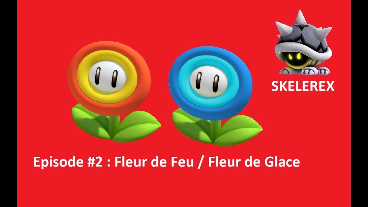 Fleur Mario Bros Pixel