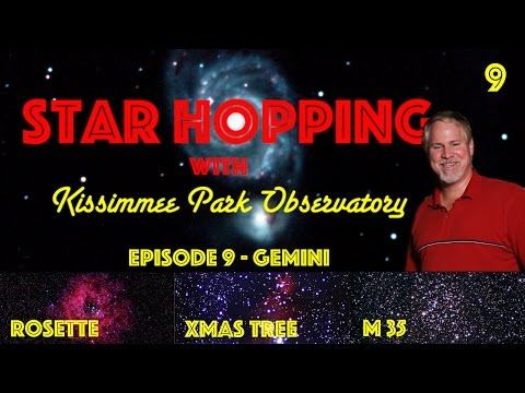 Star Hopping #9 – Find the Rosette Nebula, the Christmas Tree Cluster, and M35