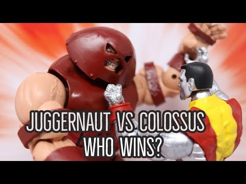 Marvel 80 Years Juggernaut Colossus Action Figures Review!