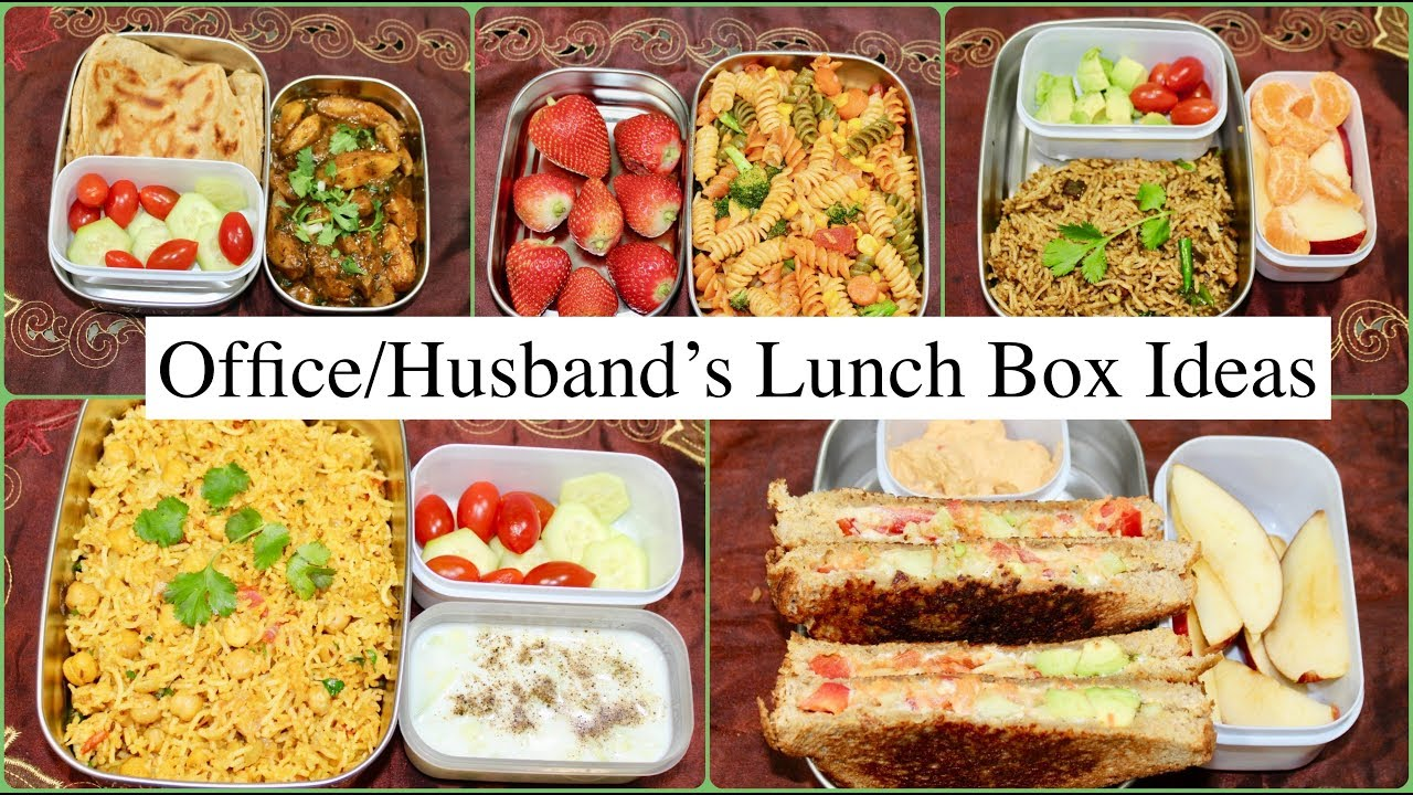 husband s lunch box for a week indian veg lunch box recipes for