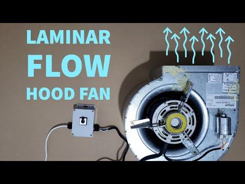 Laminar Flow Hood Fan Selection - Making a Mushroom Cleanroom