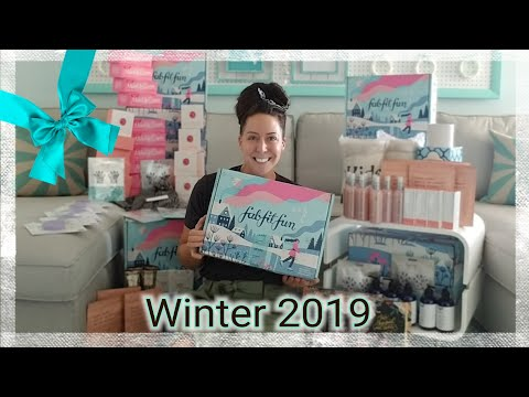 FabFitFun Winter 2019 (12 BOXES)
