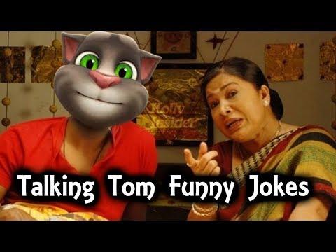 Talking tom funny jokes funny videos tamil comedy
