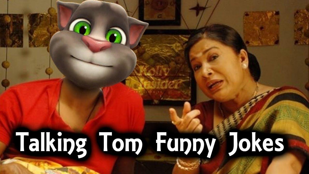 Talking Tom Funny Jokes Funny Videos Tamil Comedy Youtube