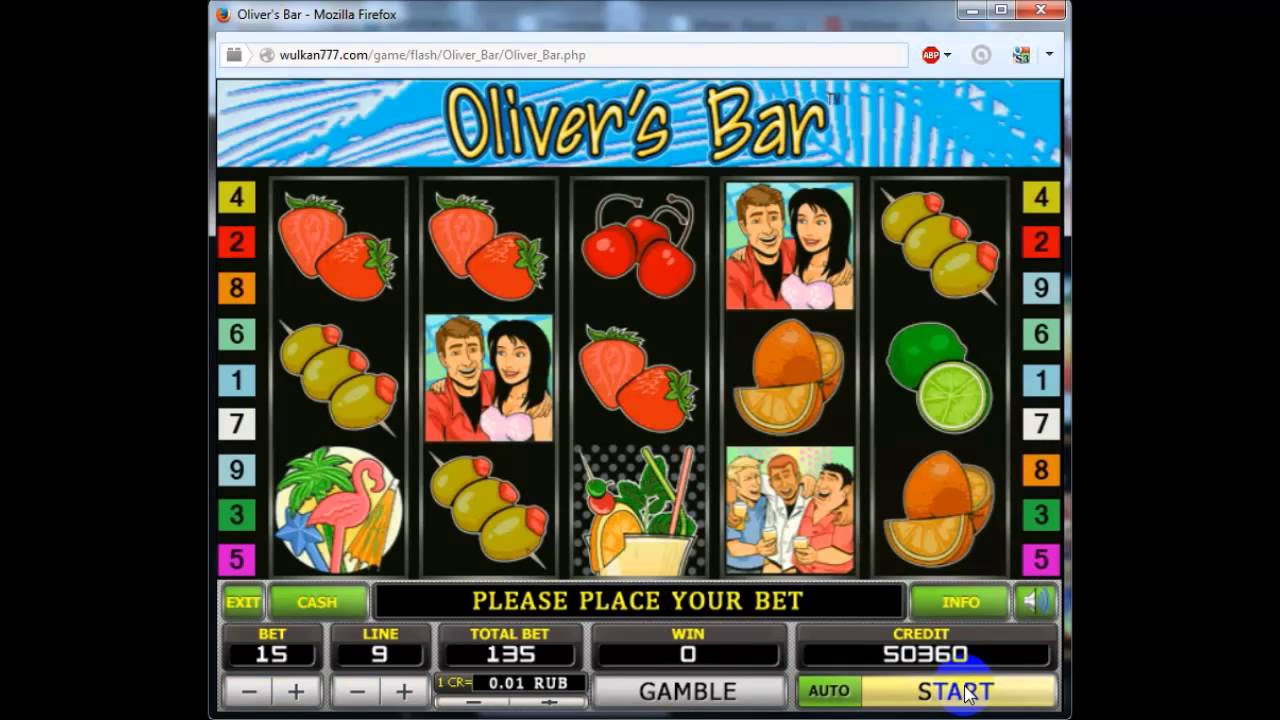 Оливер бар игровой автомат
