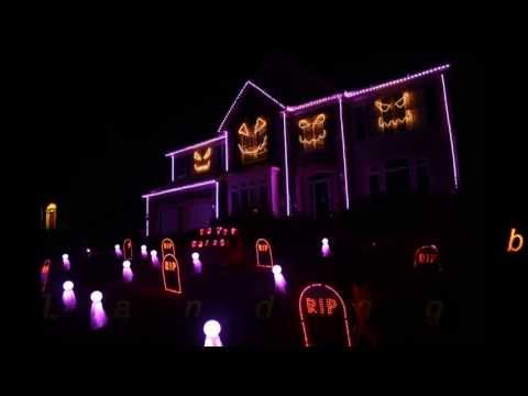 Halloween Light Show 2013 - Sail by AWOLNation (Skorge Remix)
