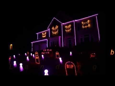 Halloween Light Show 2013 - Sail by AWOLNation (Skorge Remix)