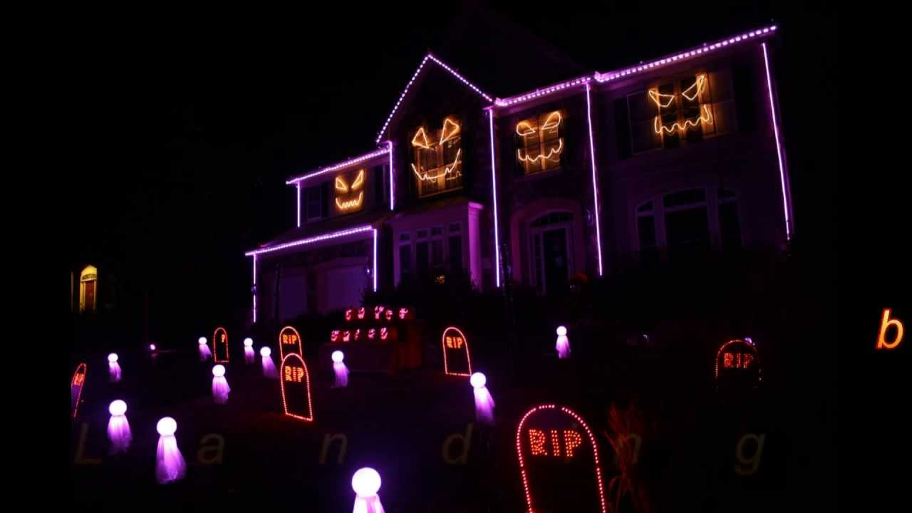 halloween light show 2013 sail by awolnation skorge remix youtube - Halloween House Pictures