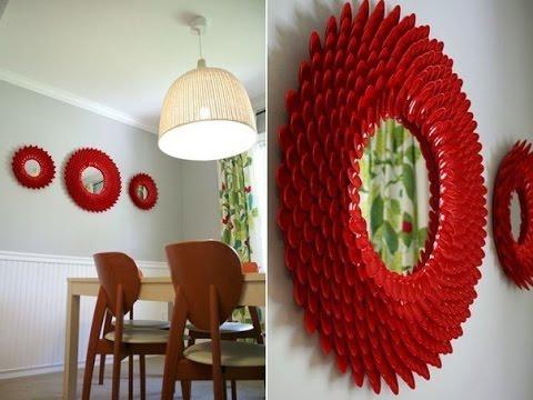 spiegel selber machen spiegel selber basteln spiegel dekorieren youtube. Black Bedroom Furniture Sets. Home Design Ideas