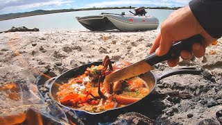 Overnight Mud Crab Miṡsion - Solo Camping, Campfire Cook Up