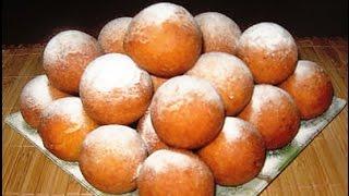 Творожные пончики-шарики!