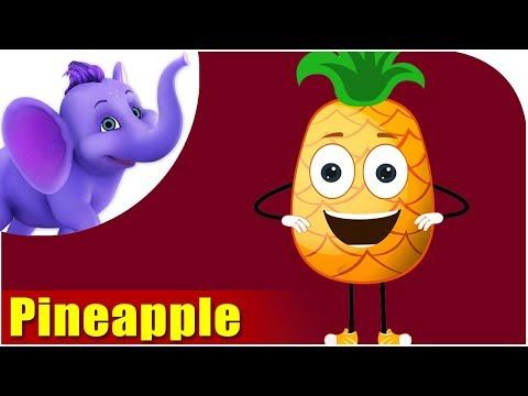 Ananas - Pineapple Fruit Rhyme in Marathi