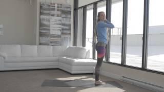 Séance d\'étirements avec Virginie Duval - Mon Gym Virtuel