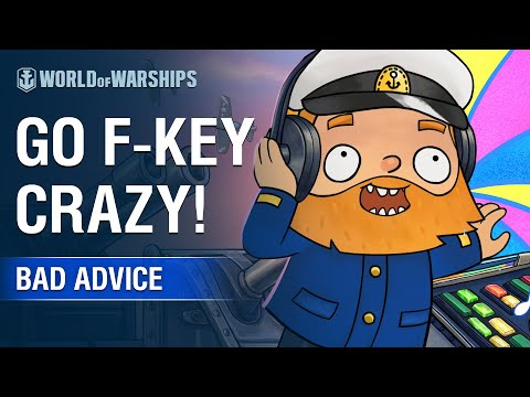 Bad Advice 11 - Go F-Key Crazy!