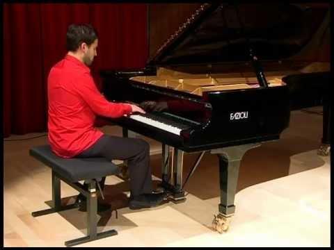 Jean-Philippe Sylvestre piano, Bach prélude et fugue No. II livre 1