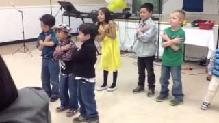 Kids dance presentation - me without You by Toby Mac