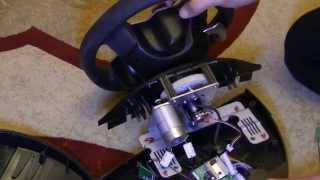 тюнинг руля Thrustmaster Ferrari F430 часть 1 из 3