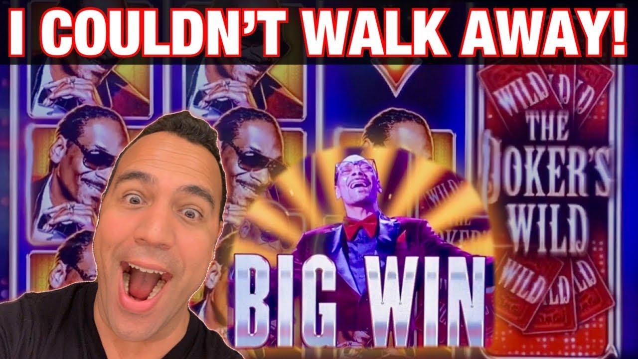 Dream Run Of Bonuses!! Snoop Dogg's Joker's Wild Slot Machine 🎵 🎰💰 (and some sassy Jason 😇?!)