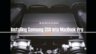 How to Install Samsung SSD 840 Pro for MacBook Pro and Cloning HDD (512GB)