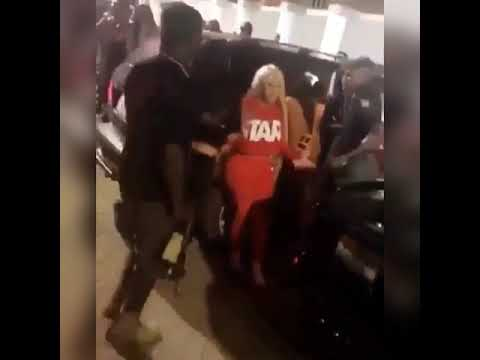 BlacChyna Fighting a woman in Nigeria, Africa.