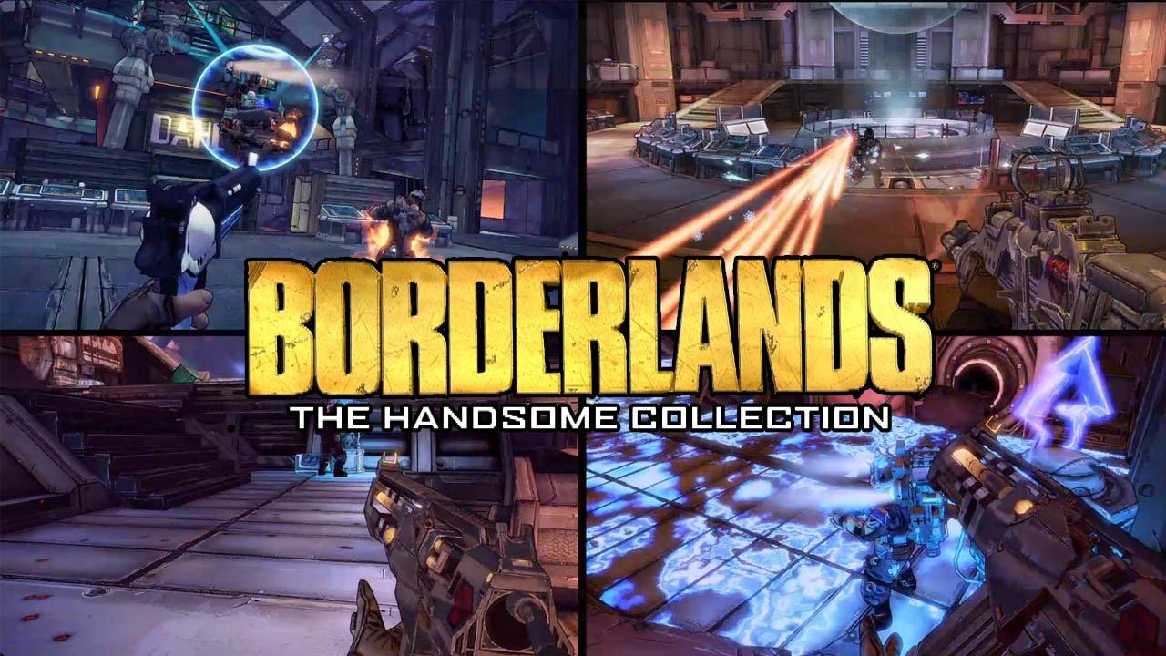 Kết quả hình ảnh cho borderlands the handsome collection ps4